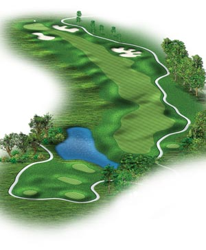 Hole #6 – Kettle Pond Rendering
