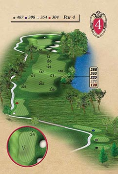 Hole #4 – Morse Pond Rendering