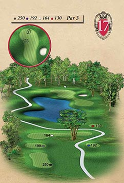 Hole #17 – Reflections Rendering